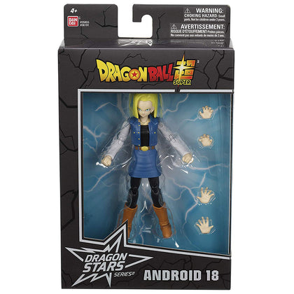 Dragon Ball Super - Dragon Stars Series - Android 18 Action Figure (36191)