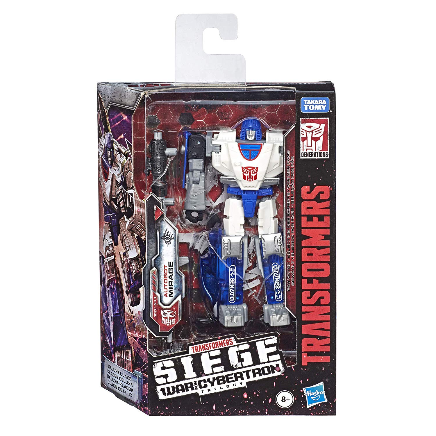Transformers - War for Cybertron: SIEGE- Deluxe Class - Mirage (WFC-S43)