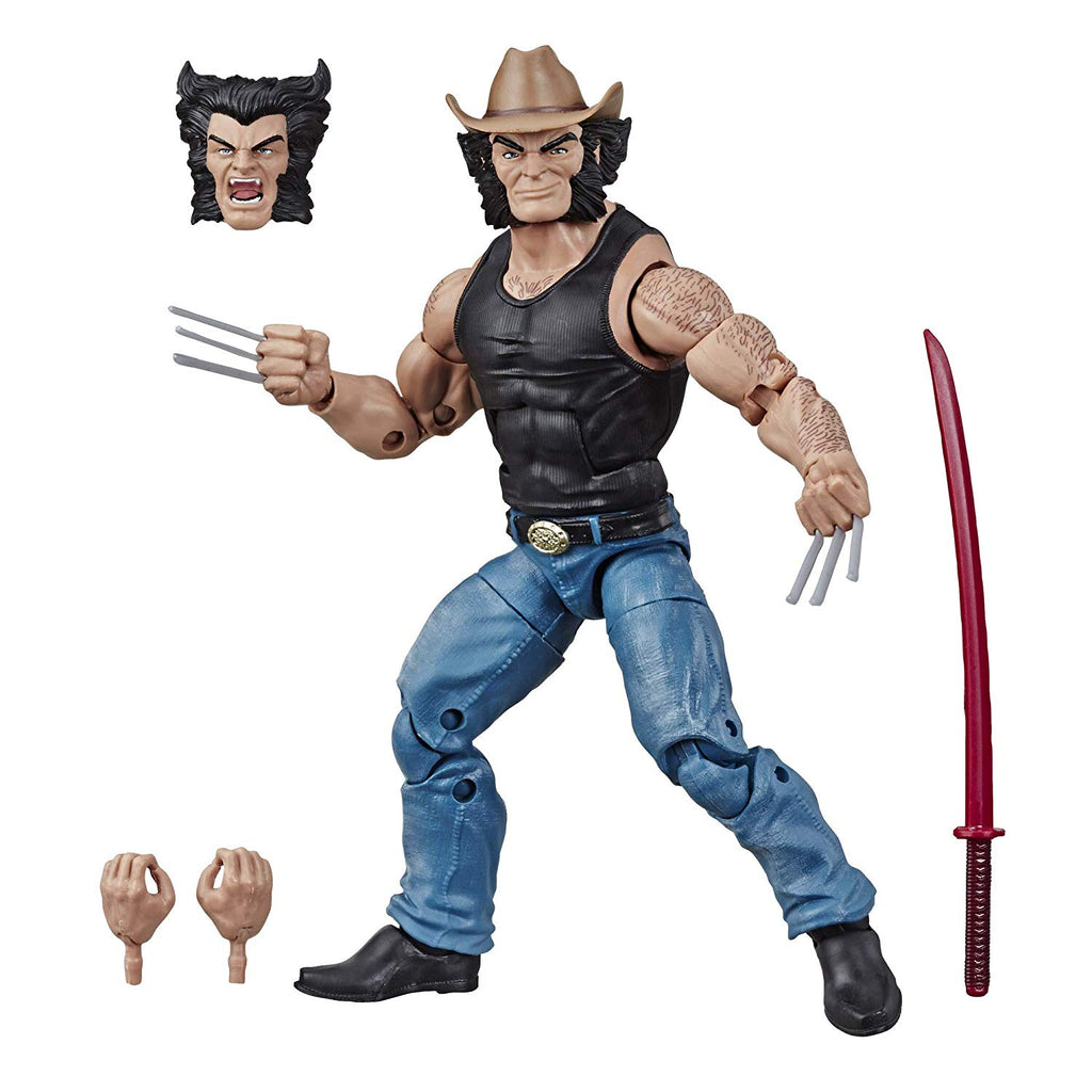 Marvel Legends - 80 Years - Wolverine / Cowboy Logan 6-inch Action Figure (E8612)