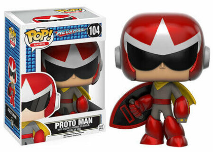 Funko Pop! Games - Megaman #104 - Proto Man Vinyl Figure