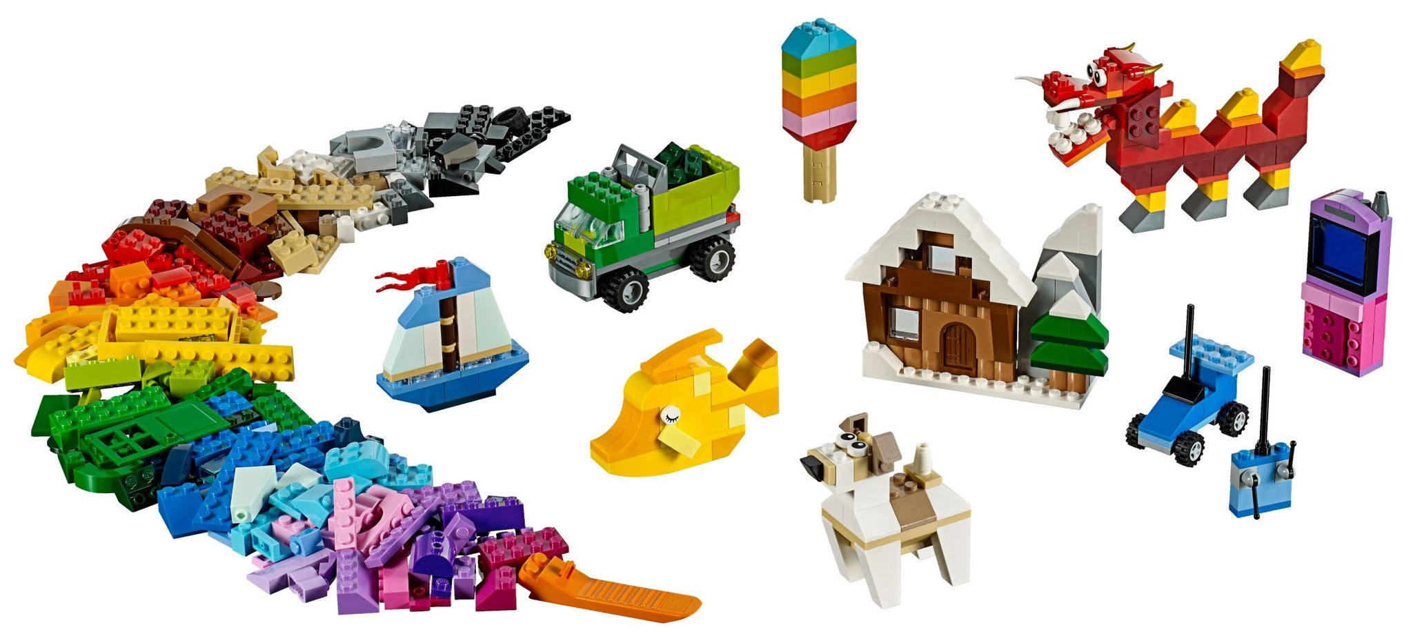 LEGO - Classic - Creative Box Building Set (10704)