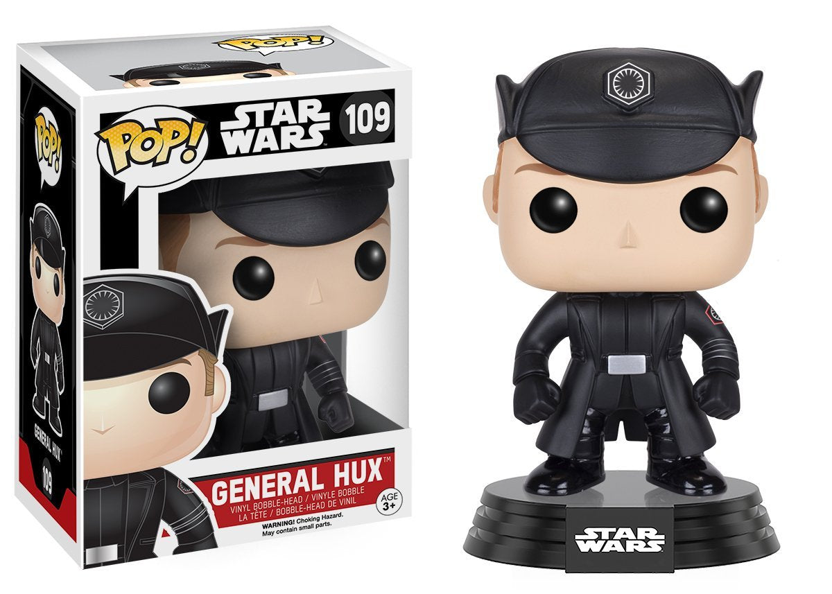Funko Pop! Star Wars #109 General Hux Vinyl Bobble-Head Figure