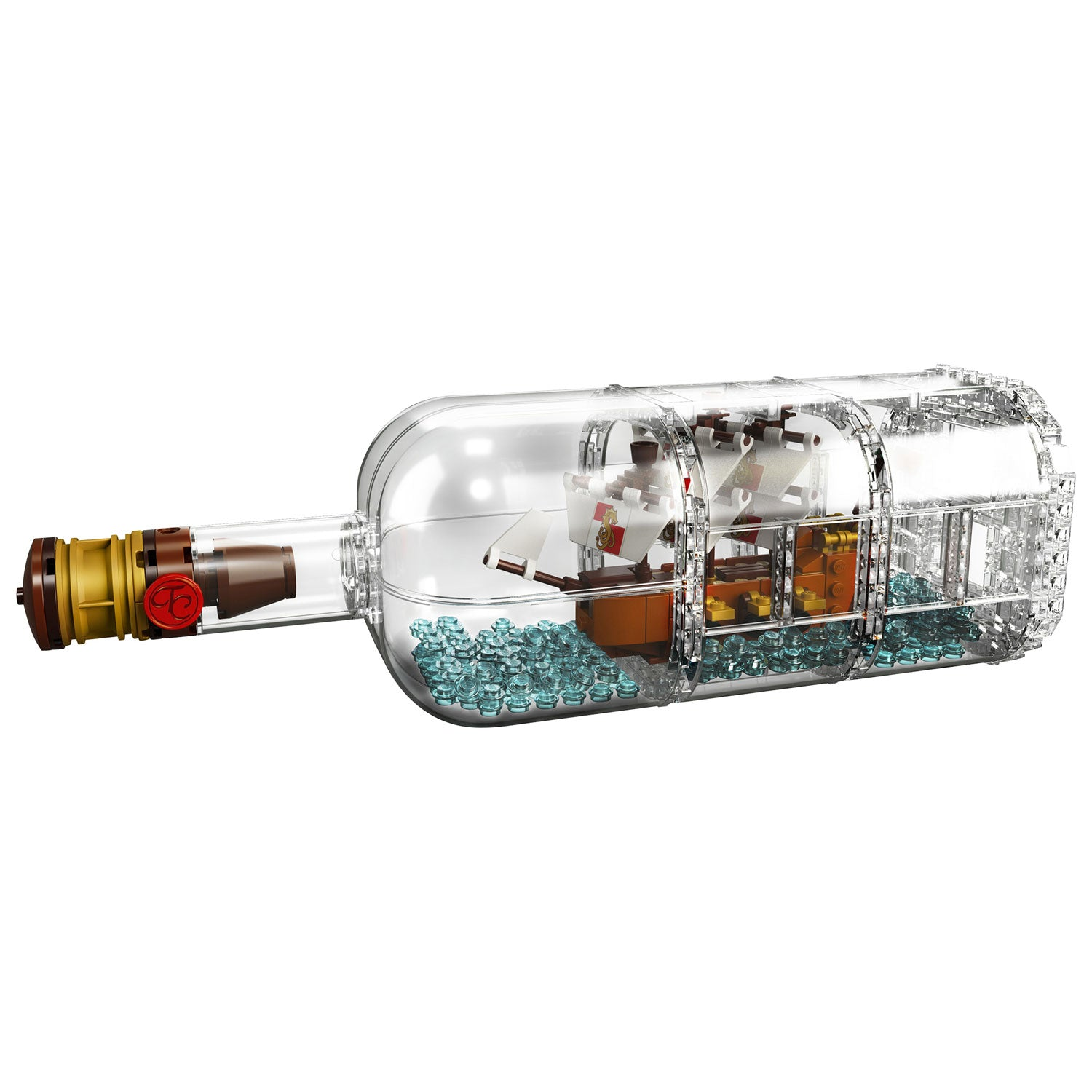 LEGO Ideas - Ship in a Bottle (21313) Building Toy RETIRED