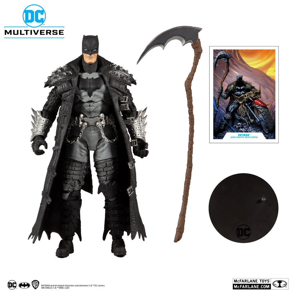 McFarlane Toys - DC Multiverse - Batman (Dark Nights: Death Metal) Action Figure