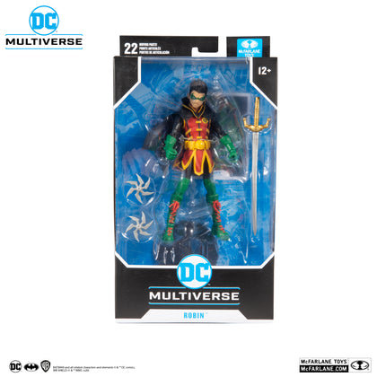 McFarlane Toys - DC Multiverse - Damian Wayne As Robin (DC Rebirth) Action Figure