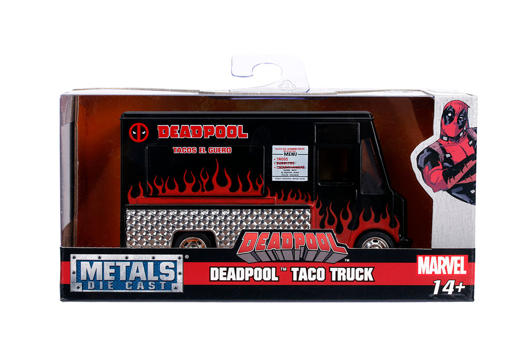 Jada - Hollywood Rides - Deadpool - Taco Truck 1:32 Die-Cast Vehicle (30864)