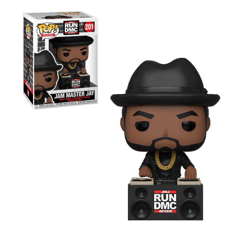 Funko Pop! Rocks #201 - RUN DMC - Jam Master Jay Vinyl Figure