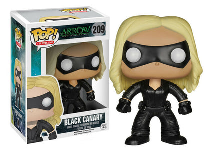 Funko Pop! Television - Arrow #209 - Black Canary Vinyl Figure