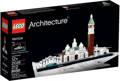 LEGO Architecture Building Set - Skyline Series - Venice, Italy (21026)