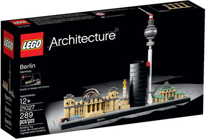 LEGO Architecture Building Set - Skyline Series - Berlin, Germany (21027)