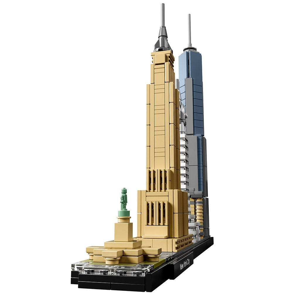 LEGO Architecture Building Set - Skyline Series - New York City, New York, USA (21028)