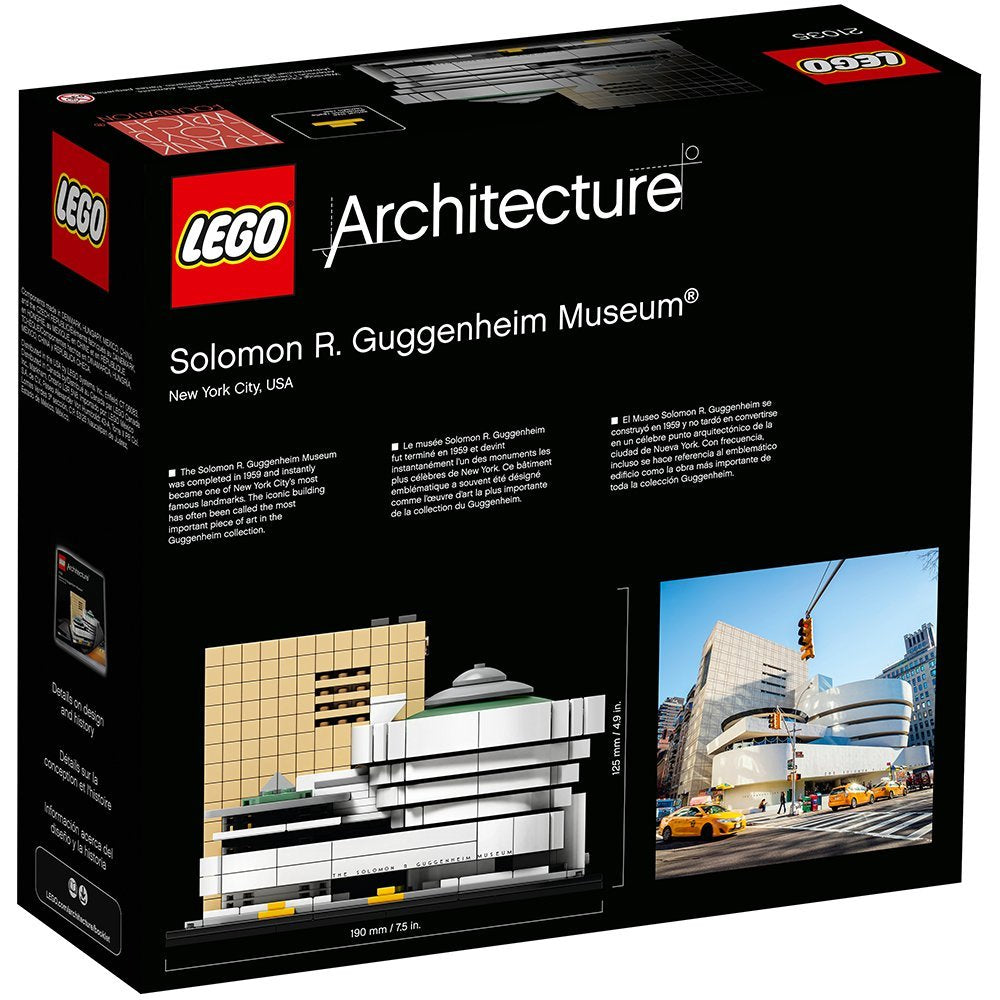 LEGO Architecture Building Set - Landmark Series - Solomon R. Guggenheim Museum (21035)