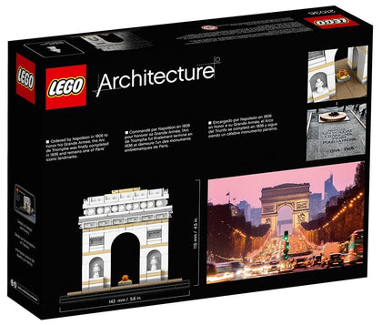 LEGO Architecture Building Set - Landmark Series - Arc de Triomphe, Paris, France (21036)