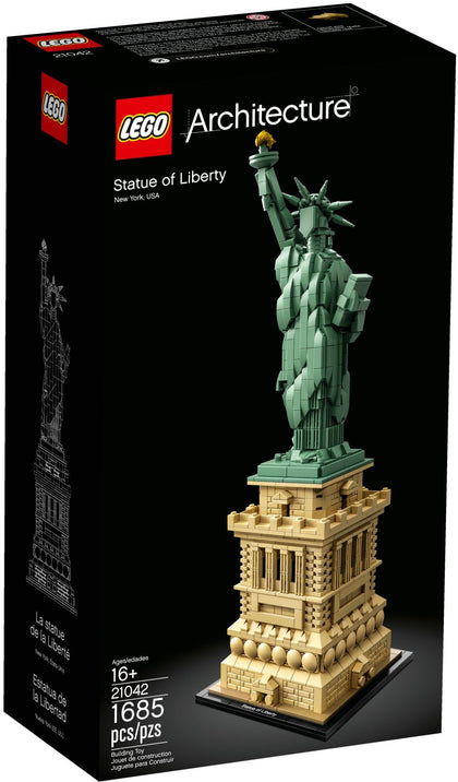 LEGO Architecture Building Set - Landmark Series - Statue of Liberty, New York, USA (21042)