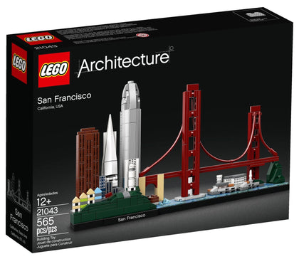 LEGO Architecture Building Set - Skyline Series - San Francisco, U.S.A. (21043)