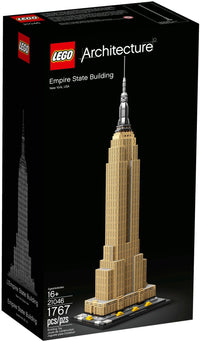 LEGO - Architecture - Landmark Series - Empire State Building, New York City, USA (21046)