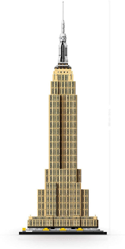 LEGO Architecture - Landmark Series - Empire State Building, New York City, USA (21046) Building Toy
