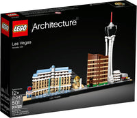 LEGO Architecture Building Set - Skyline Series - Las Vegas, Nevada, USA (21047)