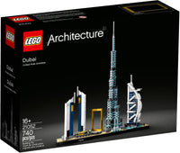 LEGO - Architecture - Skyline Series - Dubai, United Arab Emirates UAE Building Toy (21052)