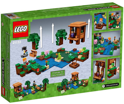 LEGO - Minecraft - The Witch Hut + Swamp + Boat + 6 Figures (21133)