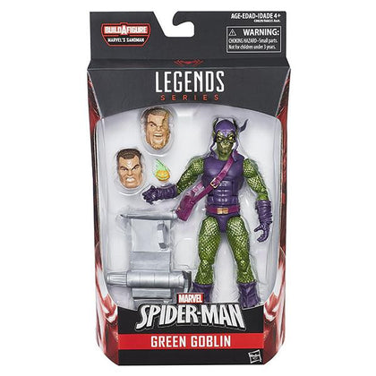 Marvel Legends - Sandman BAF - Amazing Spider-Man - Modern Green Goblin