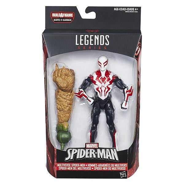 Marvel Legends - Sandman BAF - Multiverse Spider-Men - Parker Industries Spider-Man 2099