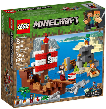 LEGO Minecraft - The Pirate Ship Adventure (21152) Building Toy