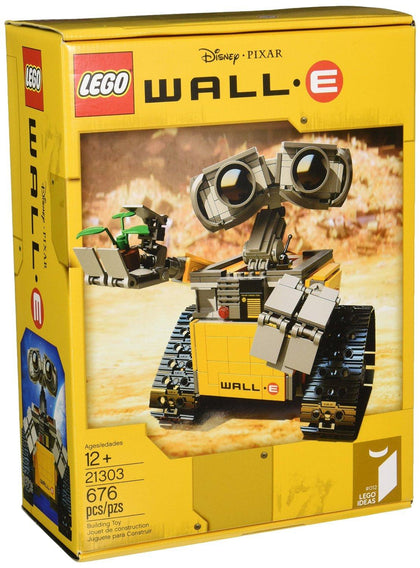 LEGO - Ideas #012 - Disney / Pixar - WALL-E Building Set (21303)