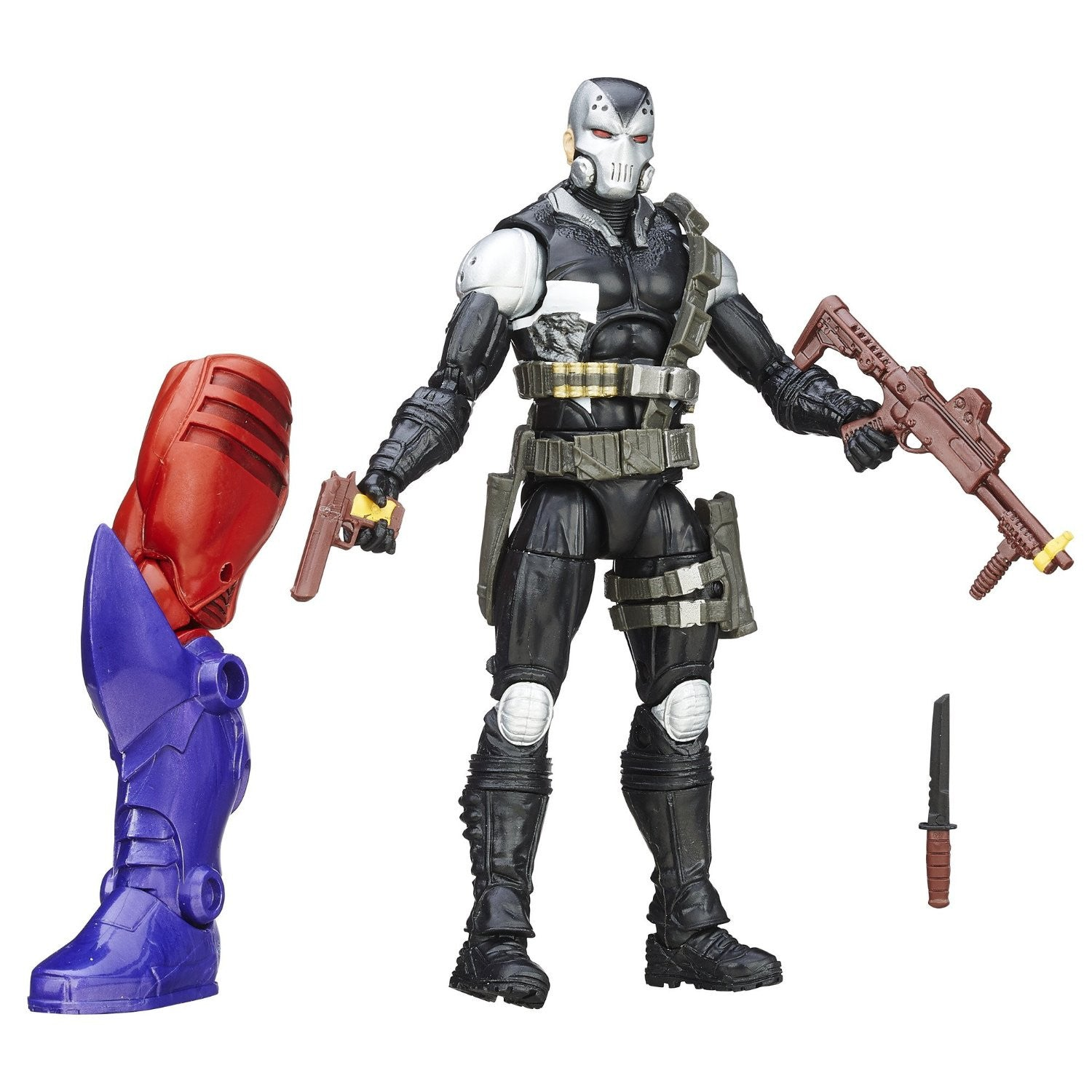 Marvel Legends - Red Skull BAF - Captain America - Mercenaries of Mayhem - Marvel's Demolition Man (B6397)