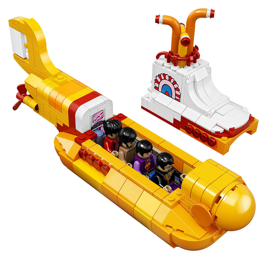 LEGO Ideas 015 - The Beatles - Yellow Submarine with John, Paul, George and Ringo (21306)