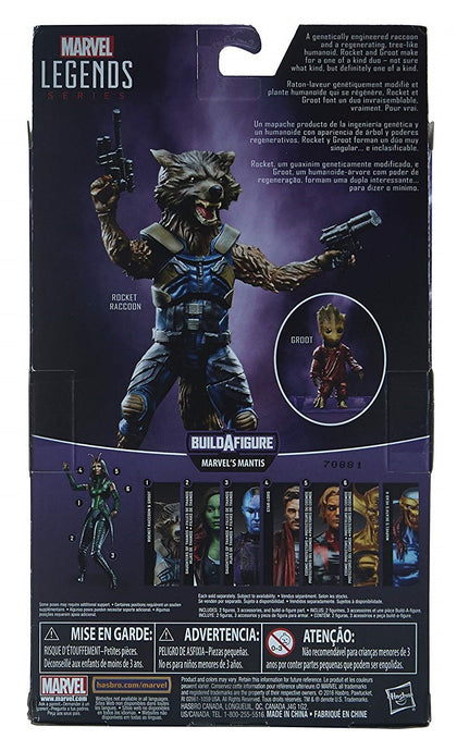 Marvel Legends - Mantis BAF - Guardians of the Galaxy Vol 2 - Rocket Raccoon and Baby Groot (C1467)