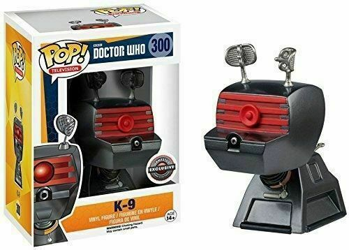 Funko Pop! Television - Doctor Who #300 - K-9 Vinyl Figure Exclusive