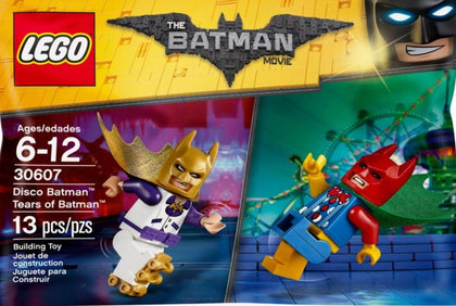 LEGO Batman Movie - Disco Batman & Tear of Batman Minifigures (30607)