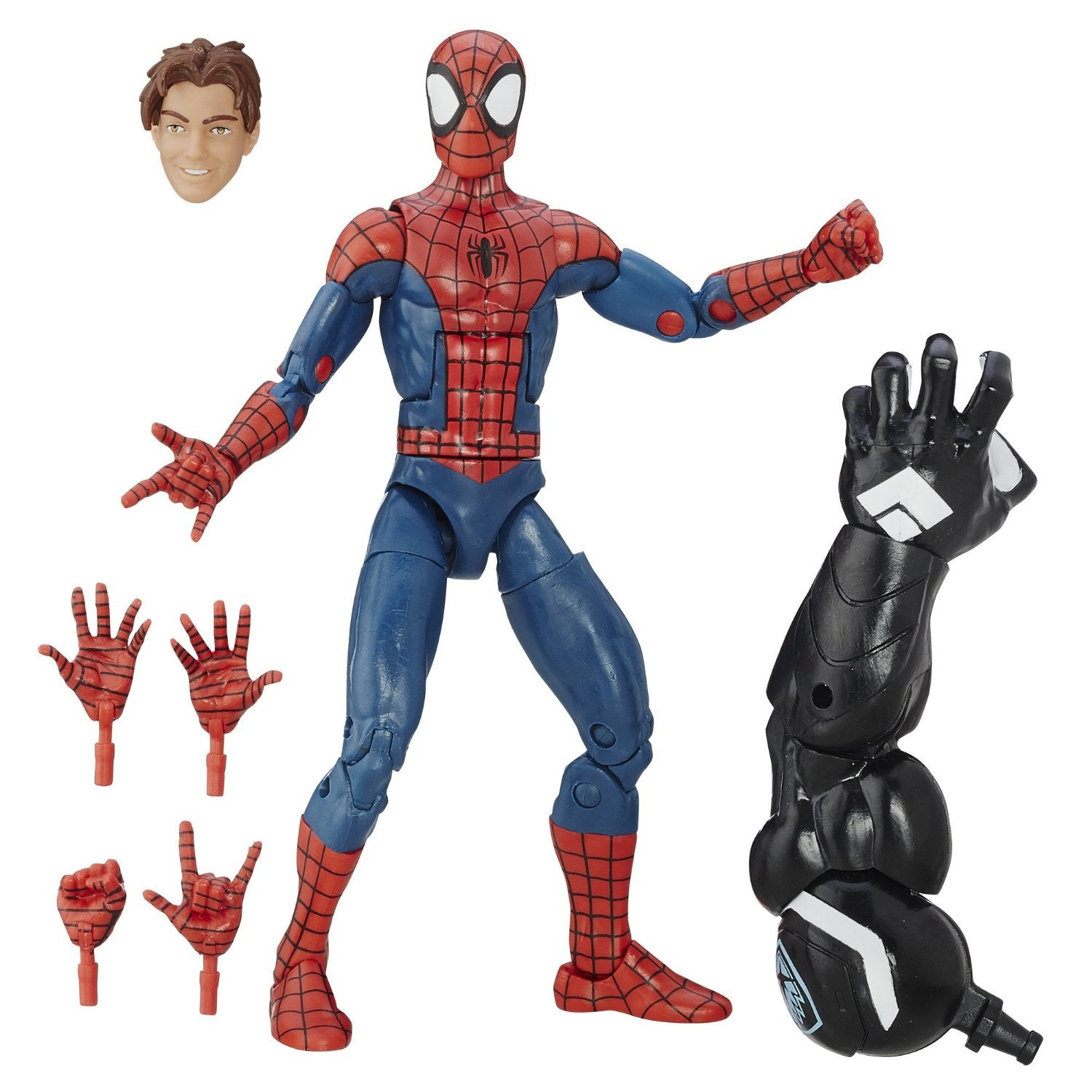 Marvel Legends - Marvel's Venom BAF - Spider-Man - Ultimate Spider-Men - Peter Parker (B6901)