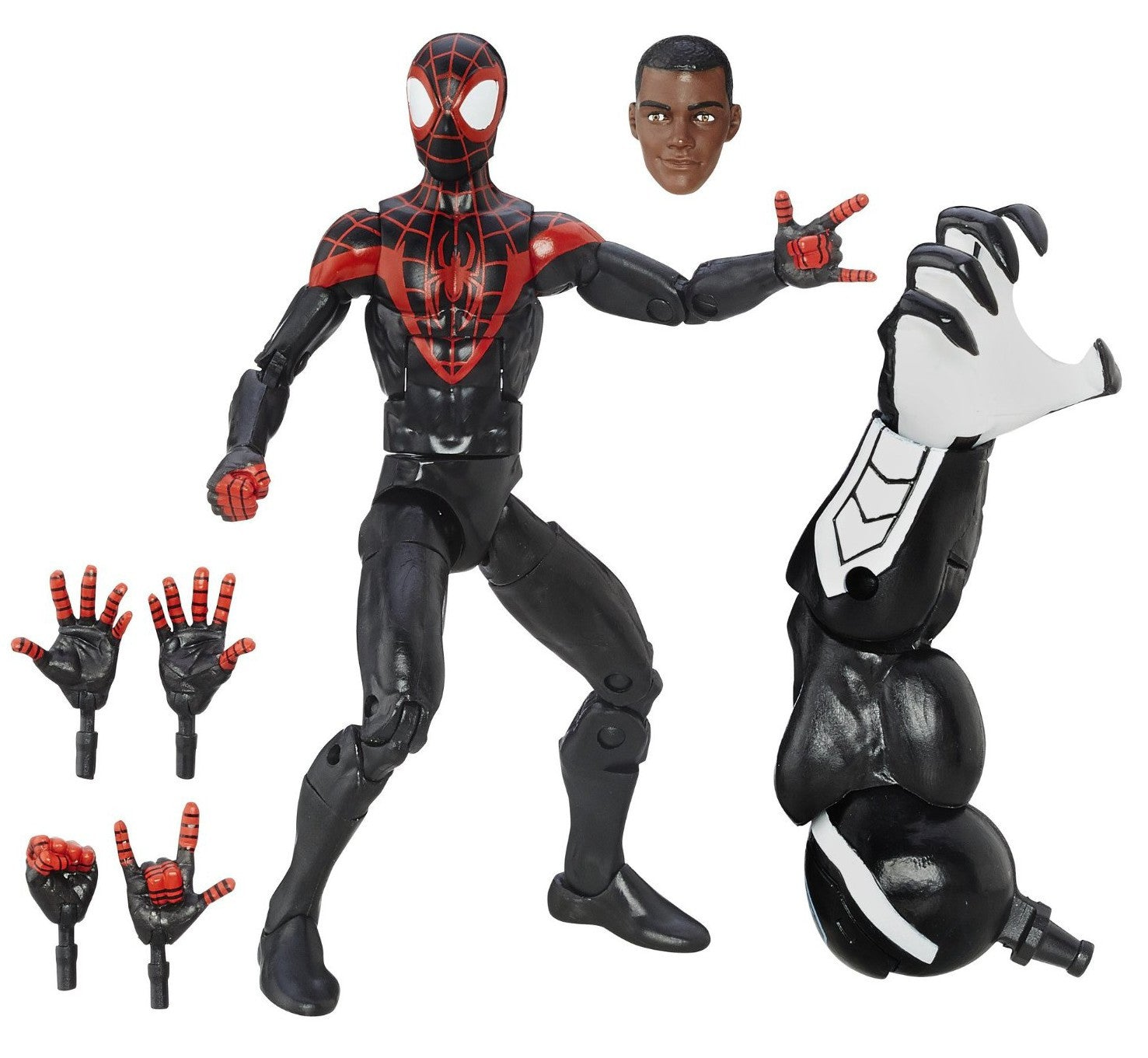 Marvel Legends - Marvel's Space Venom BAF - Spider-Man - Ultimate Spider-Men - Miles Morales (B6903)