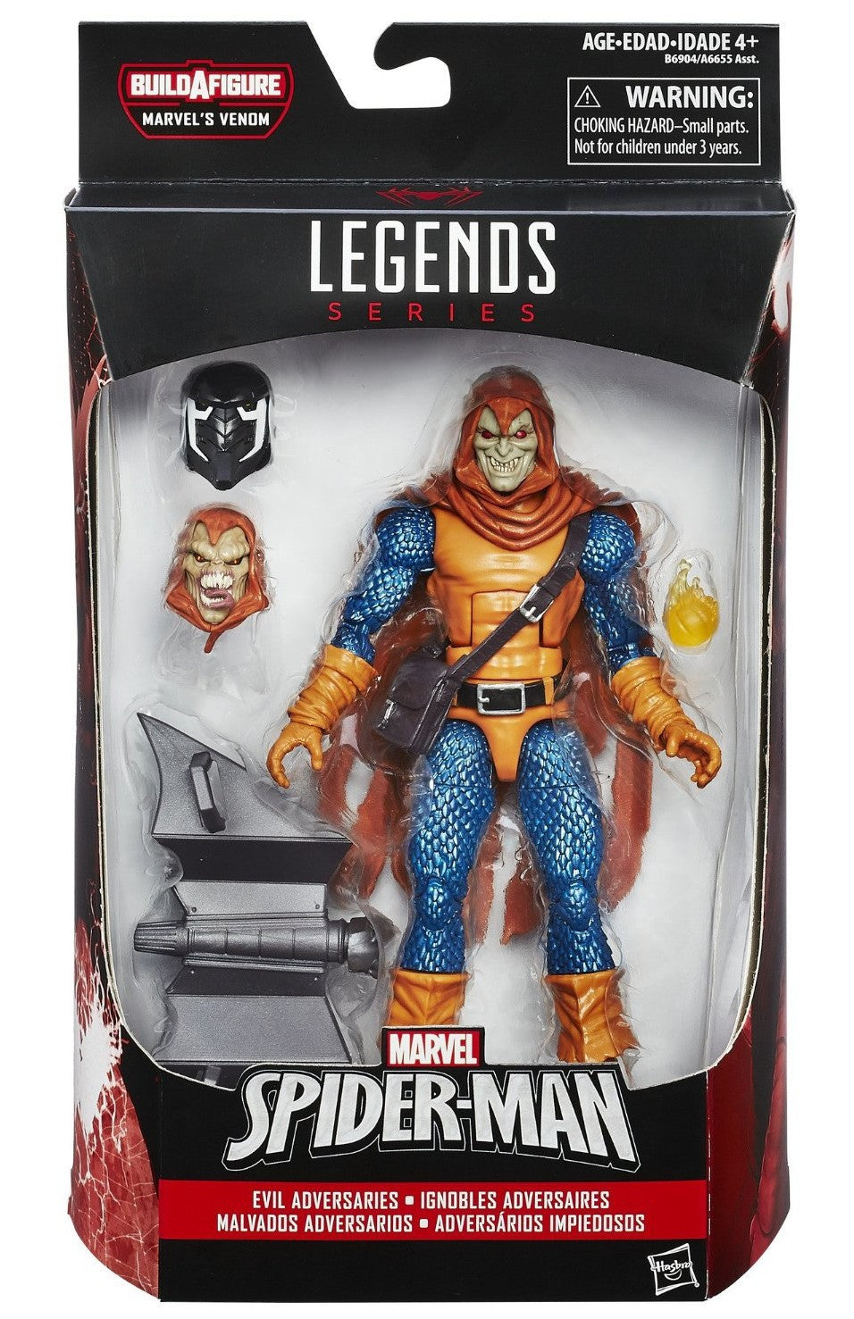 Marvel Legends - Marvel's Venom BAF - Spider-Man - Evil Adversaries - Hobgoblin (B6904)