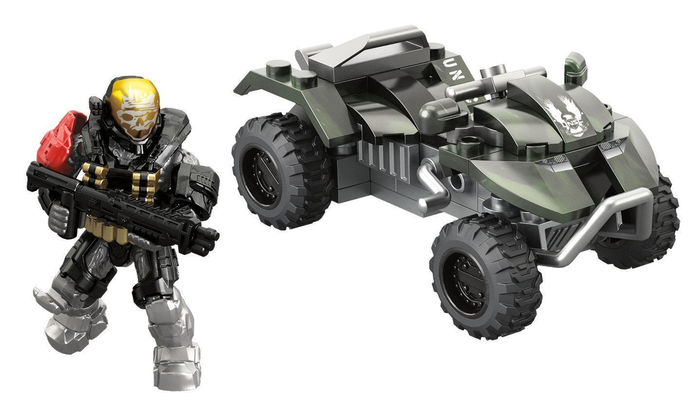 Mega Bloks - HALO - UNSC All-Terrain Mongoose (97339)