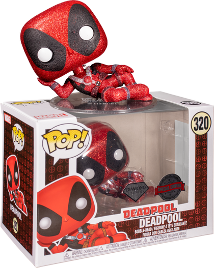Funko Pop! Marvel - Deadpool #320 - Deadpool Vinyl Figure