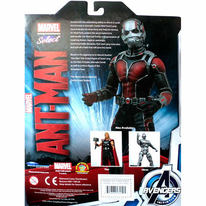 Diamond Select Toys - Marvel Select - Avengers Initiative - Ant-Man (18010)