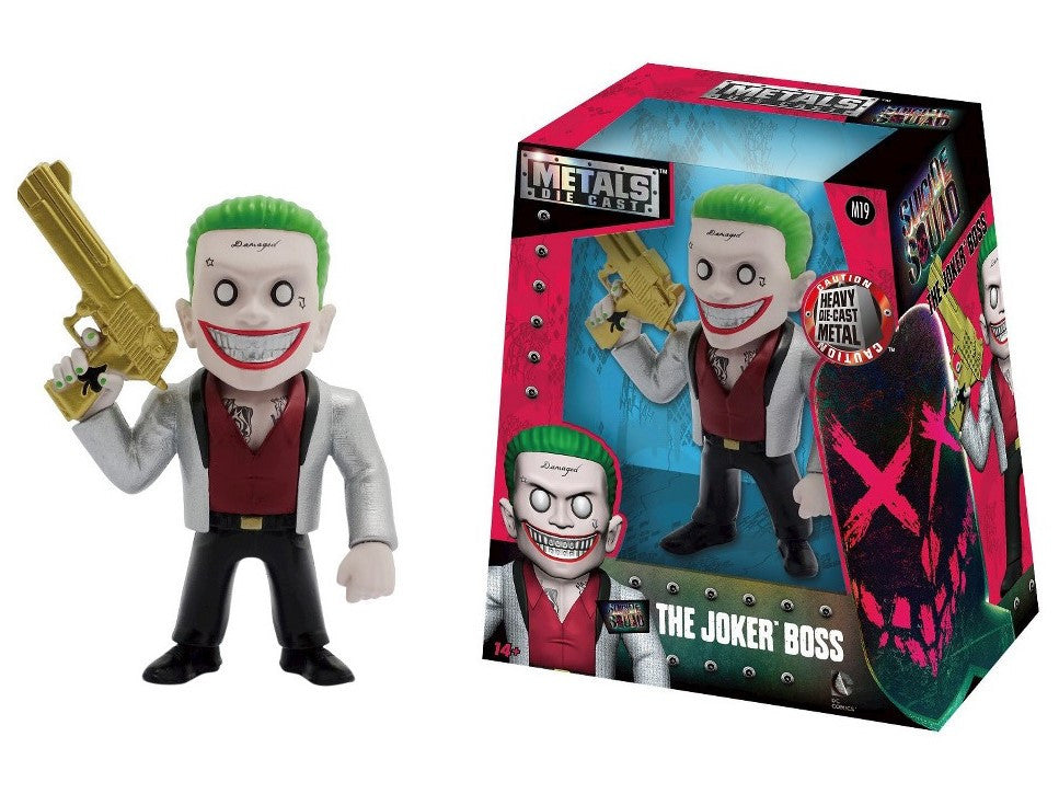 Metals Die Cast - DC - Suicide Squad - The Joker Boss (M19) 4-Inch Figure