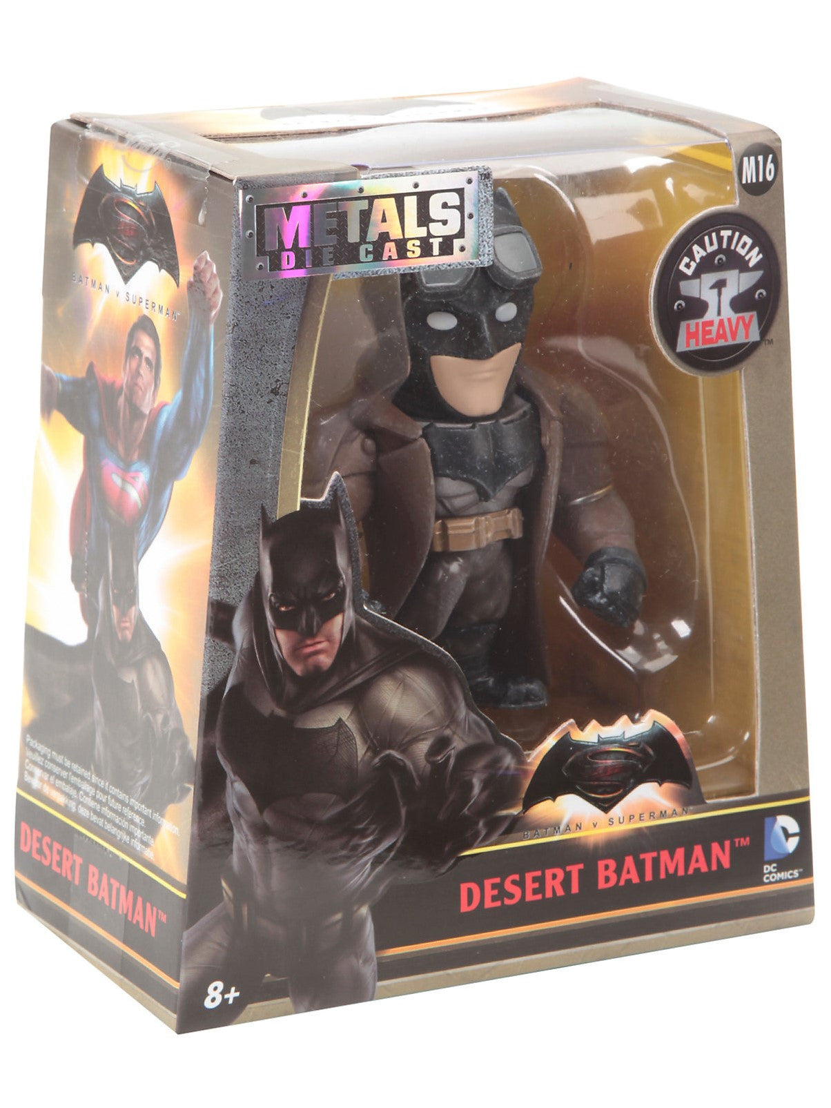 Metals Die Cast - DC - Batman v Superman - Desert Batman (M16) 4-Inch Metal Figure