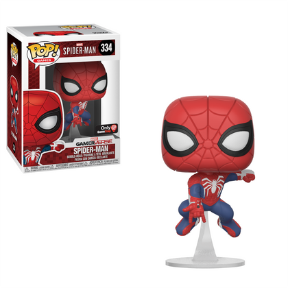 Funko Pop! Games: Marvel Gamerverse - Spider-Man (334) Vinyl Figure