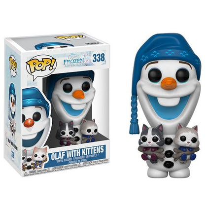 Funko Pop! Disney #338 - Olaf's Frozen - Olaf with Kittens Vinyl Figure