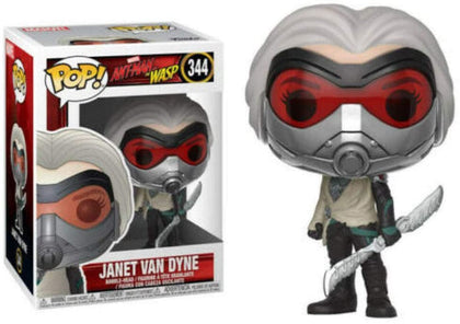 Funko Pop! Marvel - Ant-Man and The Wasp #344 - Janet Van Dyne Vinyl Figure