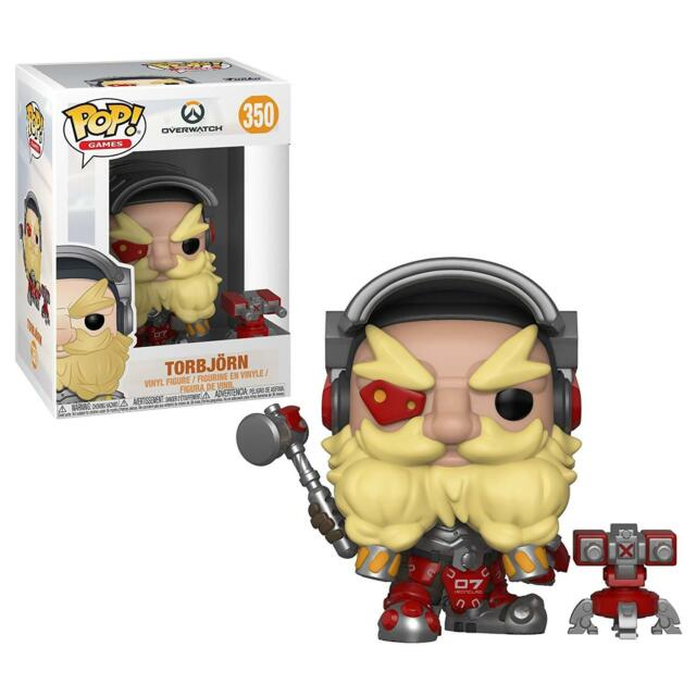 Funko Pop! Games #350 - Overwatch - Torbjorn Vinyl Figure