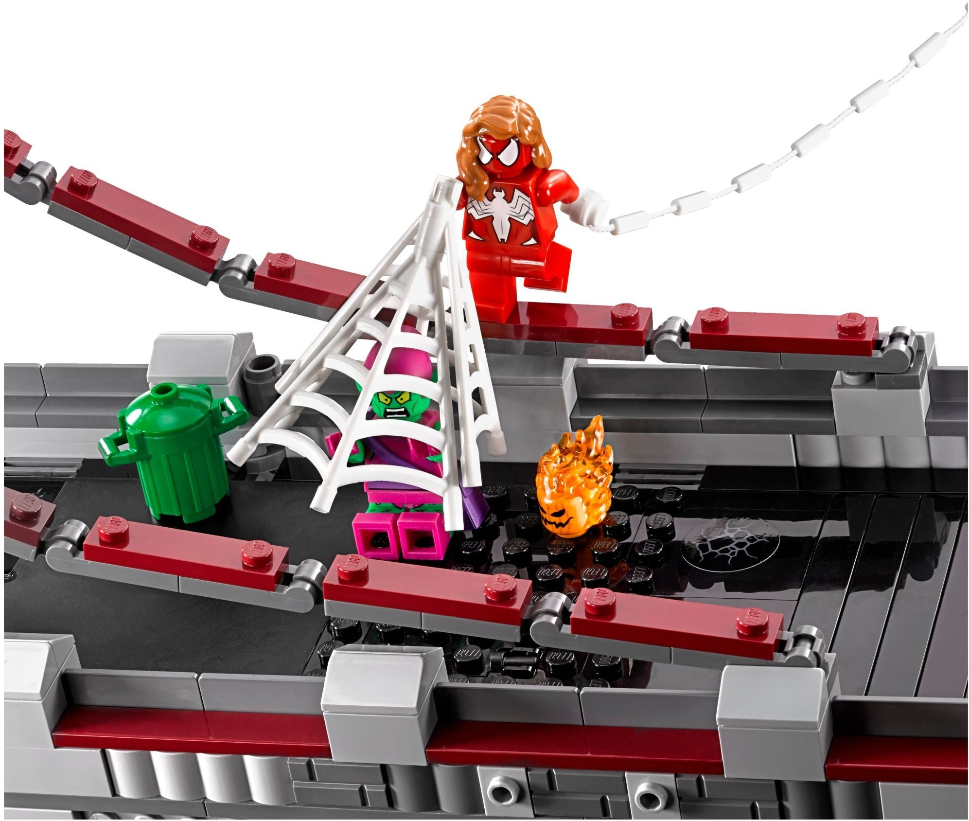 LEGO Marvel Super Heroes - Spider-Man: Web Warriors Ultimate Bridge Battle (76057)