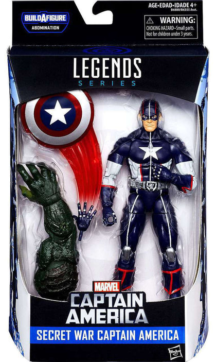 Marvel Legends - Abomination BAF - Captain America: Civil War - Secret War Captain America (B6880)