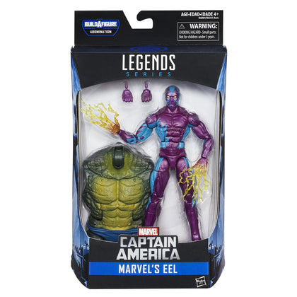Marvel Legends - Abomination BAF - Captain America - Marvel's Eel (B6884)