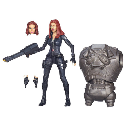 Marvel Legends - Mandroid BAF - Captain America: Winter Soldier - Black Widow (A6220)