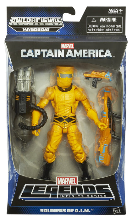 Marvel Legends - Mandroid BAF - Captain America - Soldiers of A.I.M. - A.I.M. Soldier (A6224)